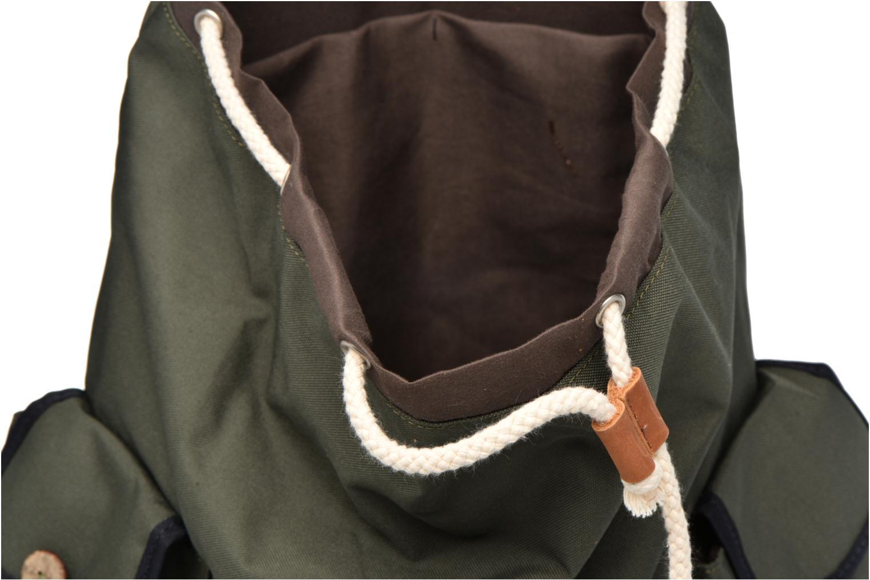 Sacs à dos Faguo Mountaineer nylon Vert vue derrière