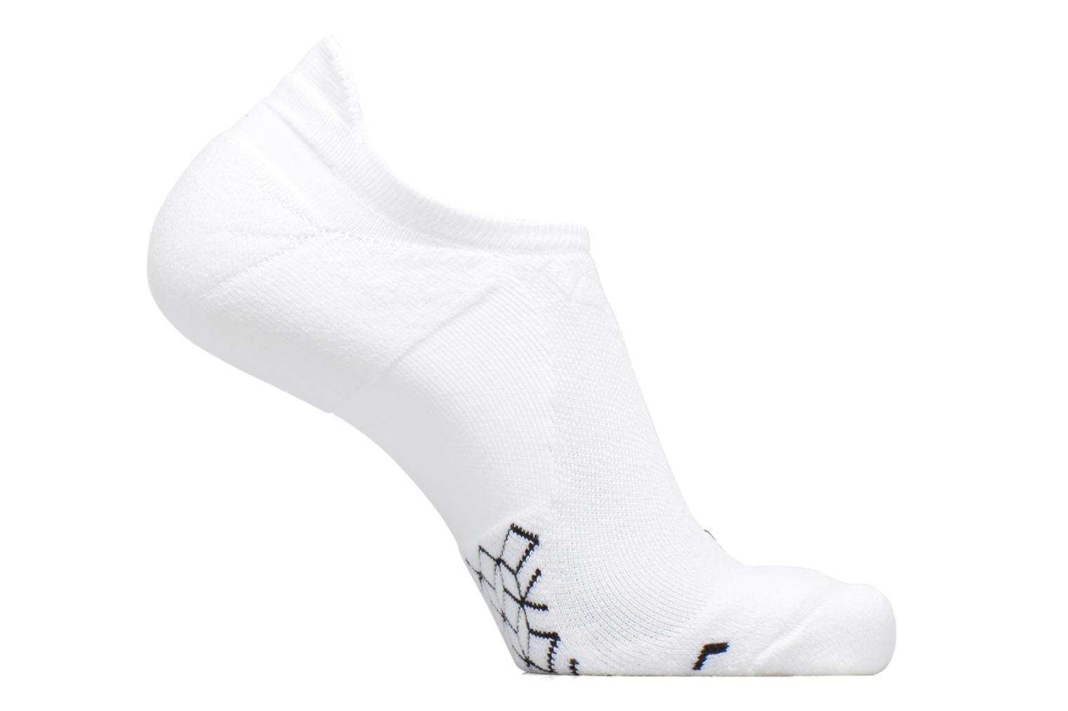 Unisex Nike Dry Elite Cushioned No-Show Running Sock White/black