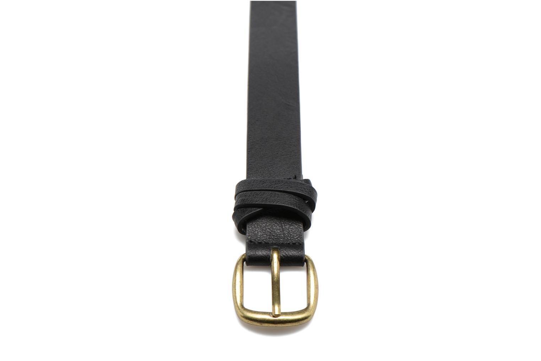 Violanna Jeans Leather belt 28mm Black