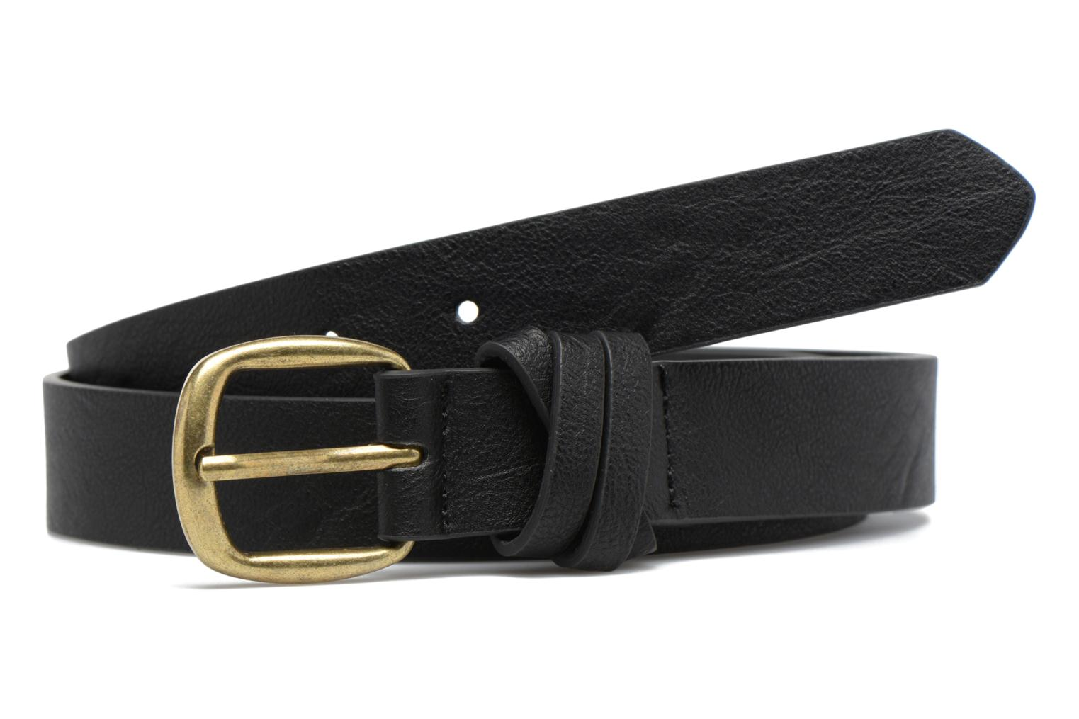 Violanna Jeans Leather belt 28mm Black