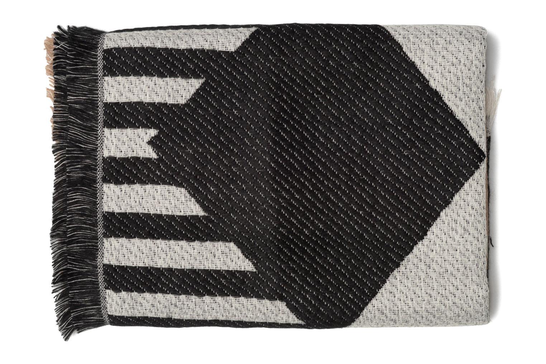 Javia Long scarf 200x65 Black/ginger snap