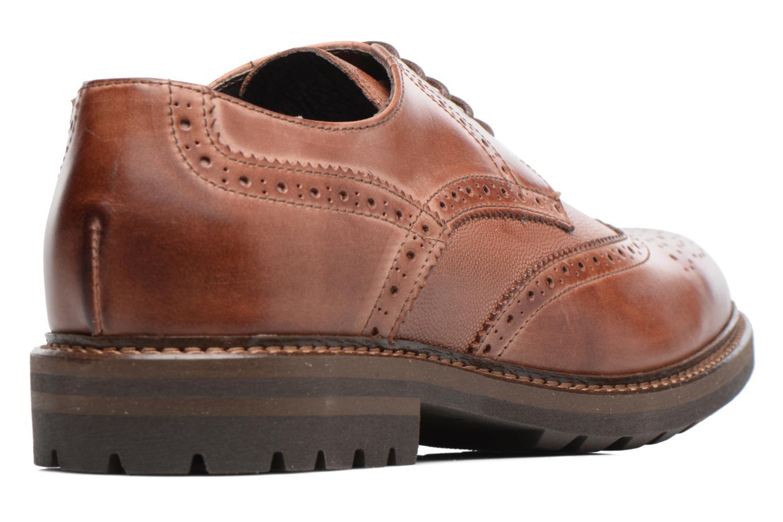 Chaussures à lacets Mr SARENZA Nubia Marron vue face
