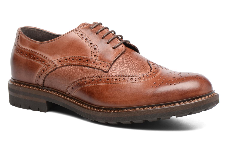 Chaussures à lacets Mr SARENZA Nubia Marron vue droite