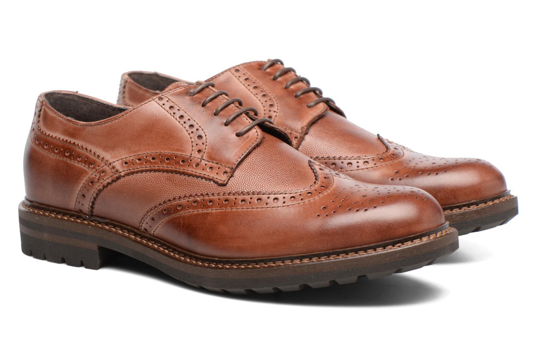 Chaussures à lacets Mr SARENZA Nubia Marron vue derrière