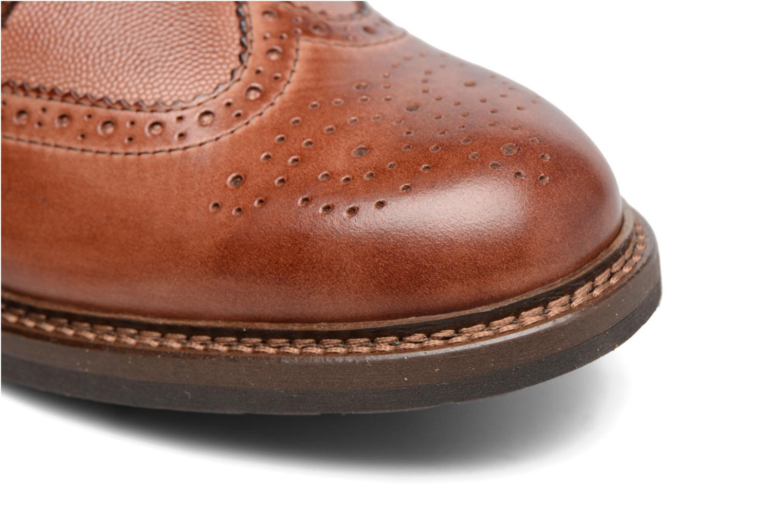 Chaussures à lacets Mr SARENZA Nubia Marron vue gauche
