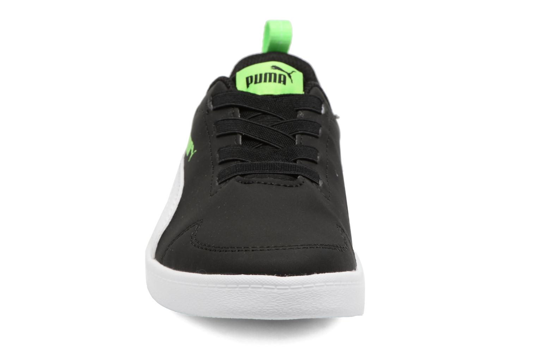 Baskets Puma Inf Courtflex / Ps Courtflex Noir vue portées chaussures
