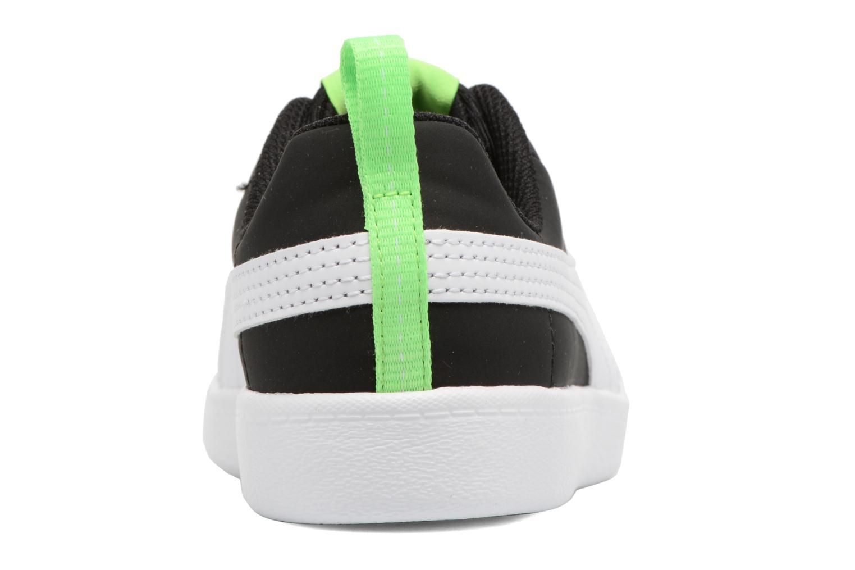 Baskets Puma Inf Courtflex / Ps Courtflex Noir vue droite