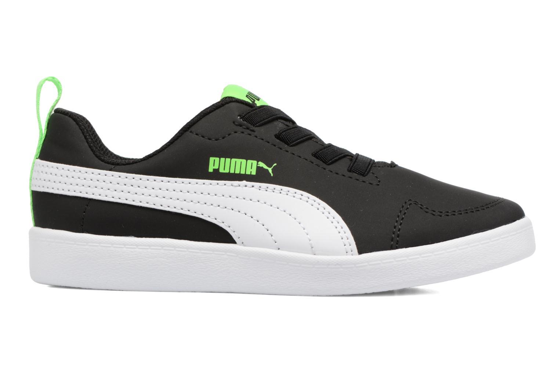 Baskets Puma Inf Courtflex / Ps Courtflex Noir vue derrière