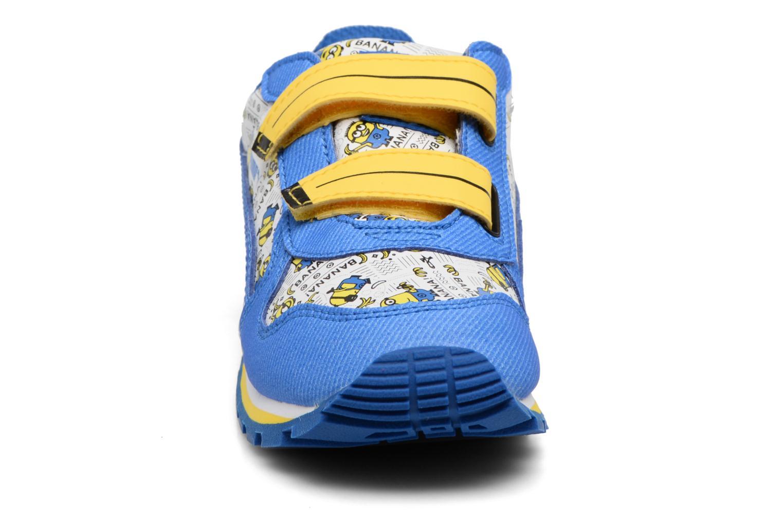 Baskets Puma Inf Minions ST Runner/Ps ST Runner Bleu vue portées chaussures