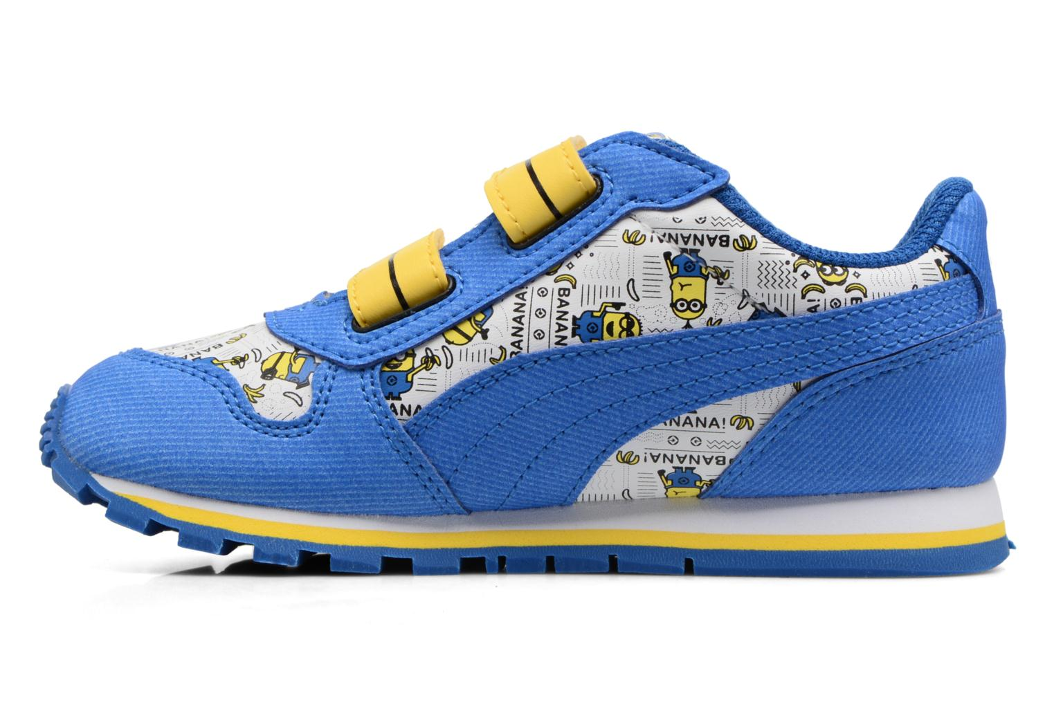 Sneakers Puma Inf Minions ST Runner/Ps ST Runner Azzurro immagine frontale