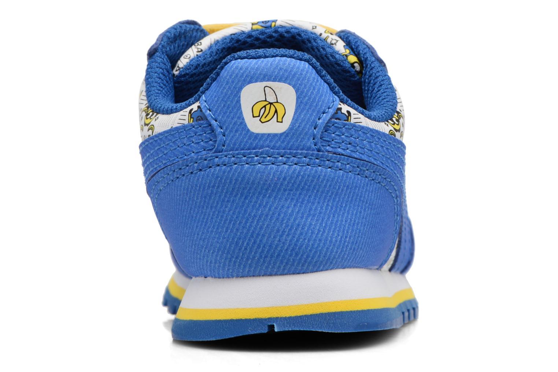 Baskets Puma Inf Minions ST Runner/Ps ST Runner Bleu vue droite