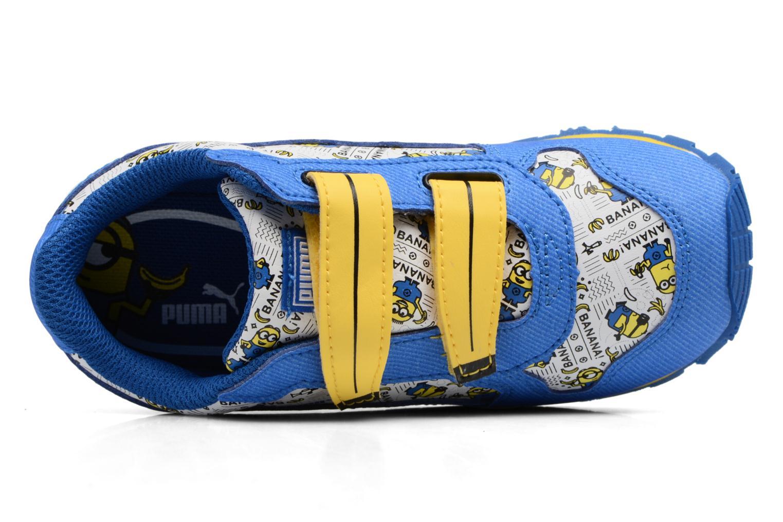 Sneakers Puma Inf Minions ST Runner/Ps ST Runner Azzurro immagine sinistra