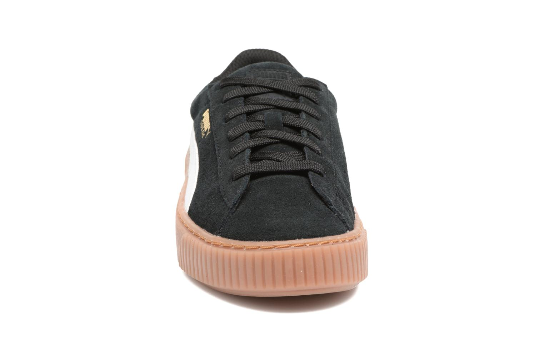 Baskets Puma PS Suede Platform Snake/Jr Suede Platform Snake Noir vue portées chaussures