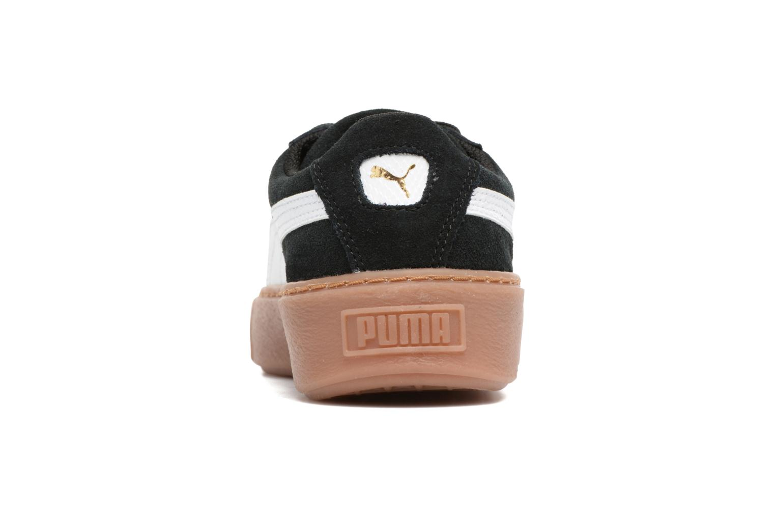 Trainers Puma PS Suede Platform Snake/Jr Suede Platform Snake Black view from the right