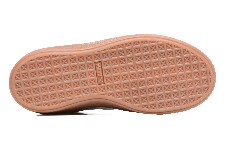 Baskets Puma PS Suede Platform Snake/Jr Suede Platform Snake Noir vue haut