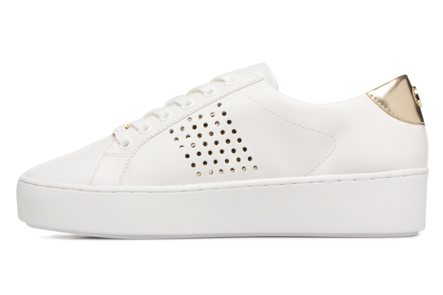 Poppy Lace Up White / Gold