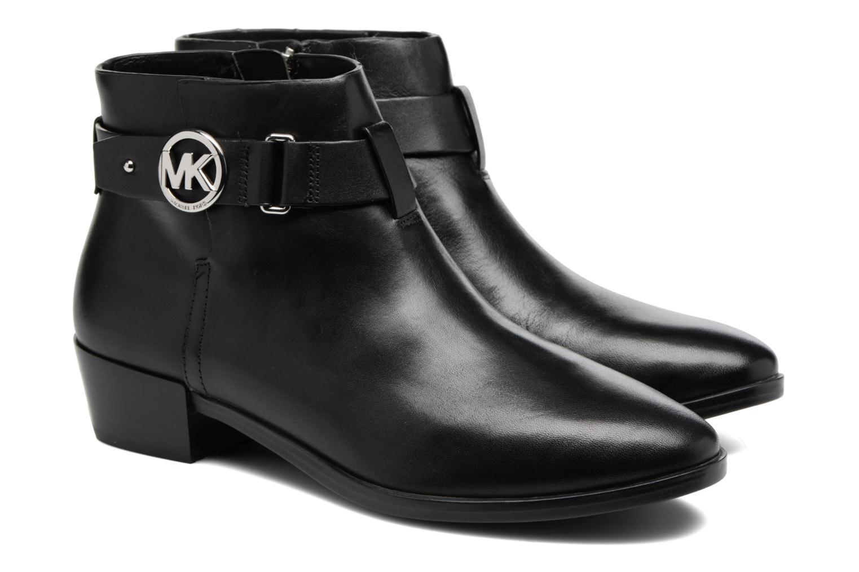 Bottines et boots Michael Michael Kors Harland Bootie Noir vue 3/4