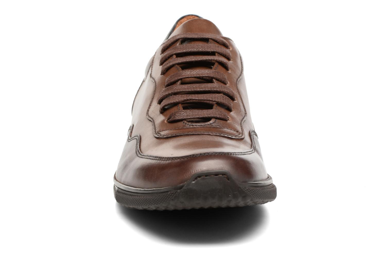 Baskets Heyraud FARELL Marron vue portées chaussures