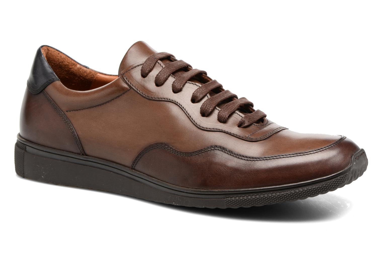 Sneakers Heyraud FARELL Bruin detail