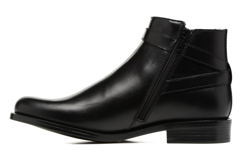Bottines et boots PintoDiBlu Nina Noir vue face