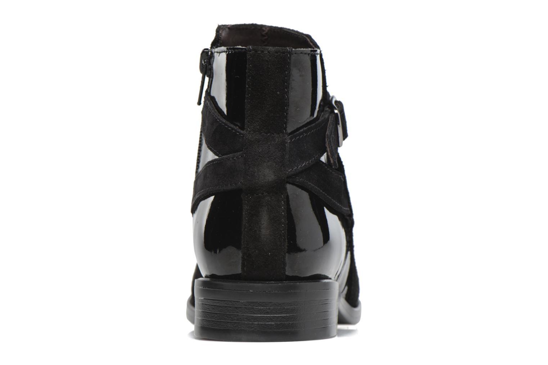 Bottines et boots PintoDiBlu Nina Noir vue droite