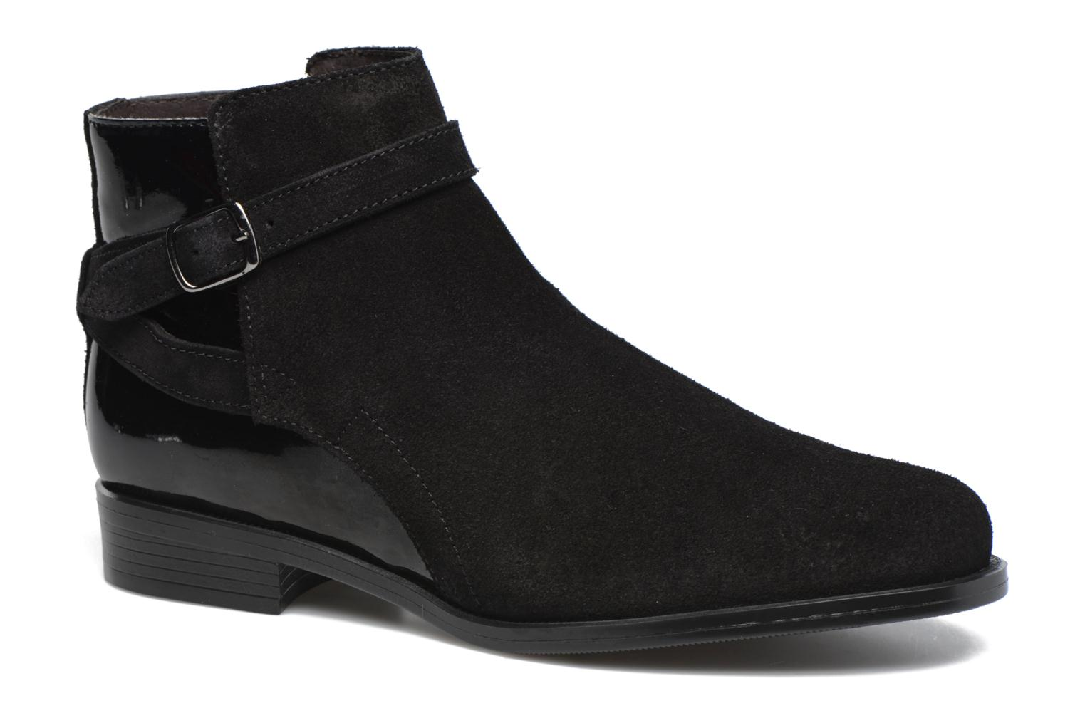 Ankle boots PintoDiBlu Nina Black detailed view/ Pair view