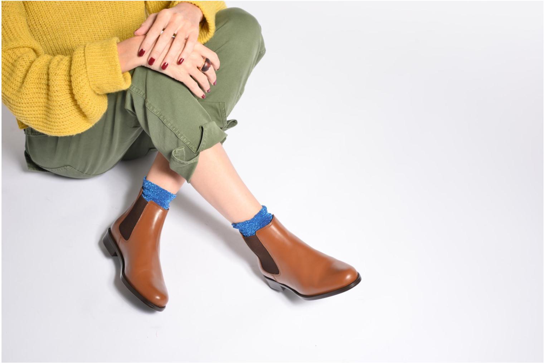 Bottines et boots PintoDiBlu Coralina Marron vue bas / vue portée sac