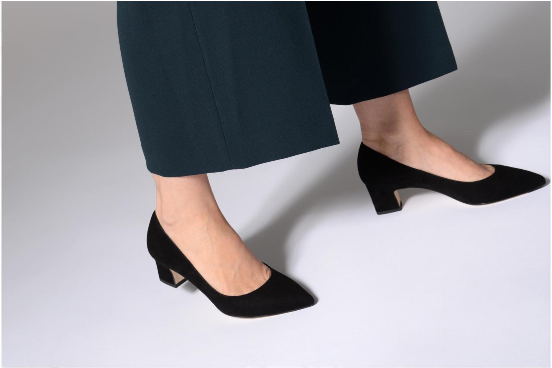 High heels L.K. Bennett Annabelle Black view from underneath / model view