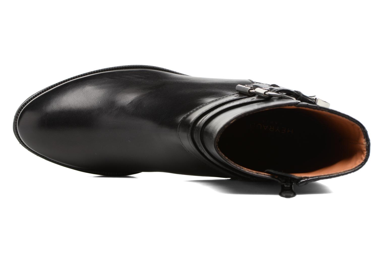 Bottines et boots Heyraud FILIPA Noir vue gauche