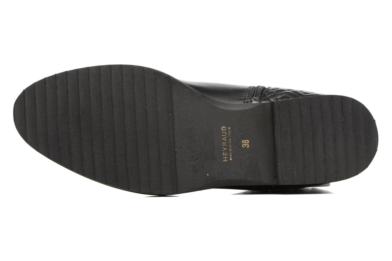 Bottines et boots Heyraud FILIPA Noir vue haut