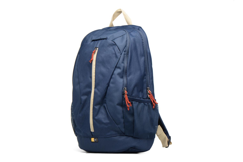 """Sacs ordinateur Case Logic Ibira Backpack 15,6"""" Bleu vue portées chaussures"""