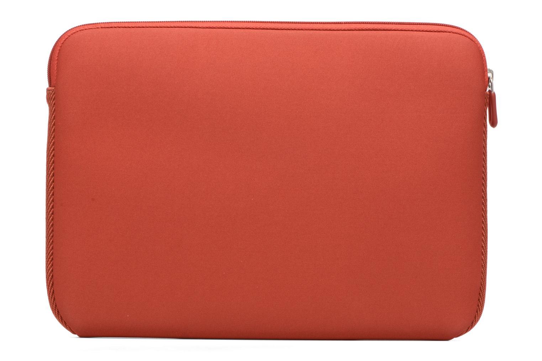 "Petite Maroquinerie Case Logic EVA-foam 14""  Notebook Sleeve, slim-line, Brick Rouge vue face"