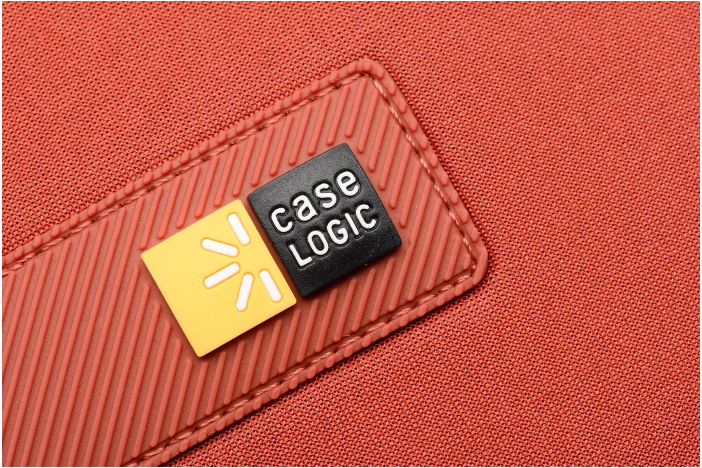 "Petite Maroquinerie Case Logic EVA-foam 14""  Notebook Sleeve, slim-line, Brick Rouge vue derrière"