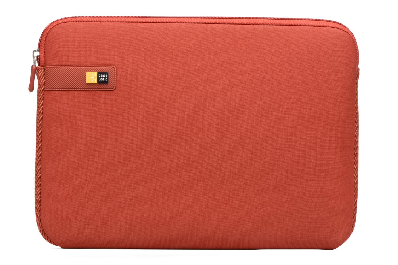 """Petite Maroquinerie Case Logic EVA-foam 14""""  Notebook Sleeve, slim-line, Brick Rouge vue détail/paire"""