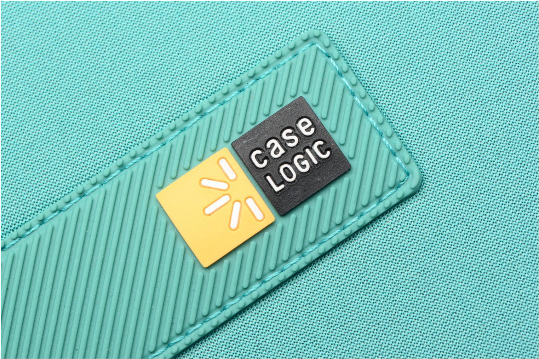 "Petite Maroquinerie Case Logic EVA-foam 14""  Notebook Sleeve, slim-line, Latigo Bay Bleu vue gauche"