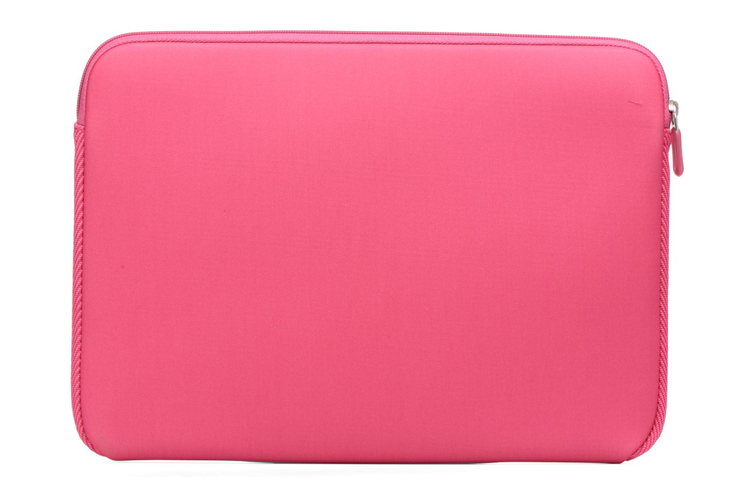"Petite Maroquinerie Case Logic EVA-foam 14""  Notebook Sleeve, slim-line, pink Rose vue face"