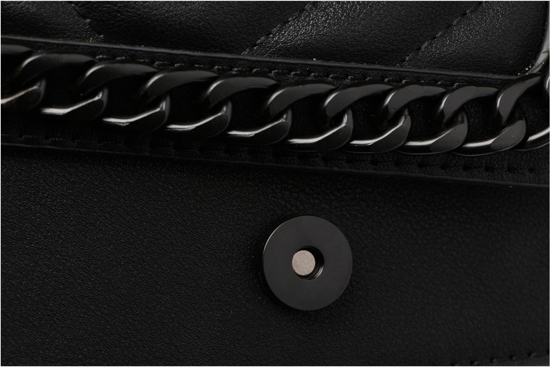 CALUBURA Crossbody Black leather
