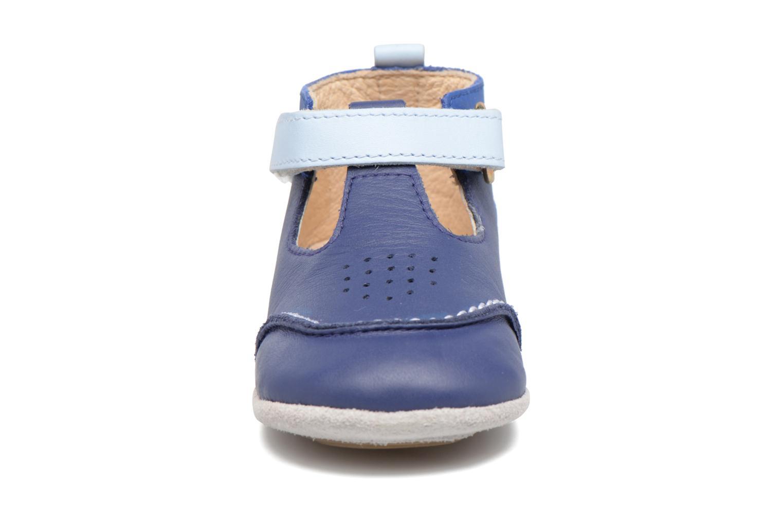 Chaussons Robeez Salomon Bleu vue portées chaussures