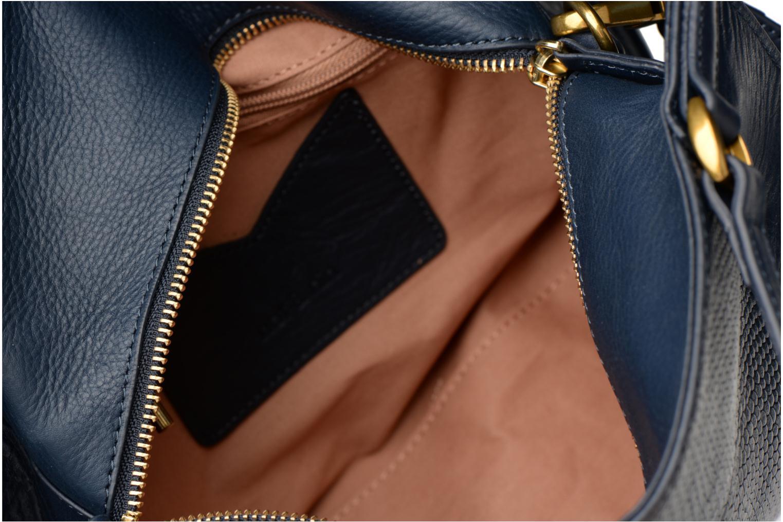 Handtaschen Nat & Nin Louise blau ansicht von hinten