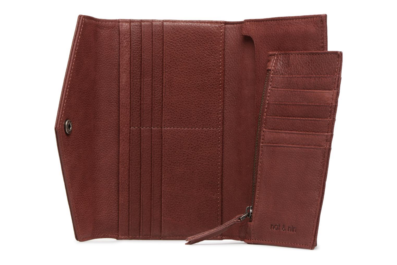 Portemonnaies & Clutches Nat & Nin Noa weinrot ansicht von hinten