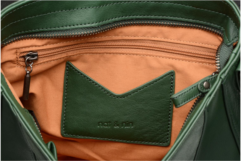 Handtaschen Nat & Nin Paola grün ansicht von hinten