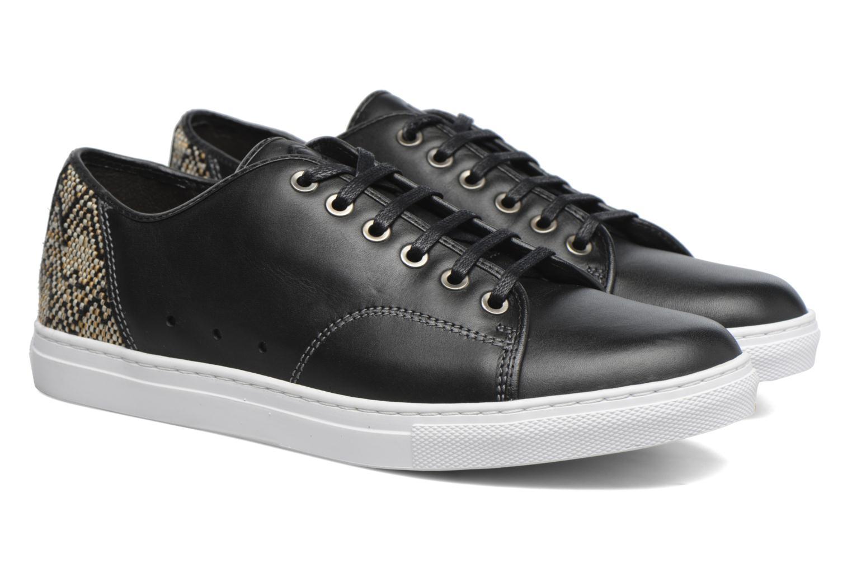 Sneakers Mr SARENZA Stora Zwart achterkant