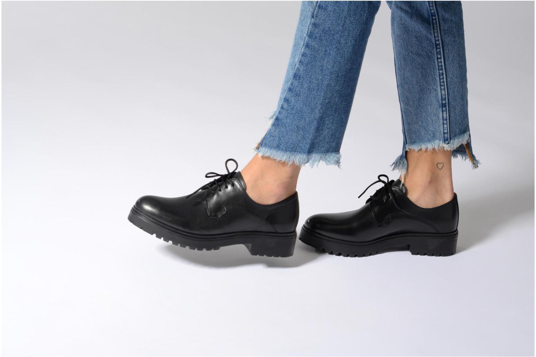 Chaussures à lacets Elizabeth Stuart Bal 294 Noir vue bas / vue portée sac