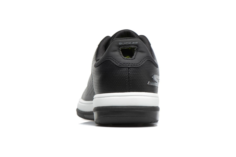Baskets Skechers On the Go - Raise Noir vue droite