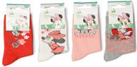 Chaussettes Lot de 4 Minnie