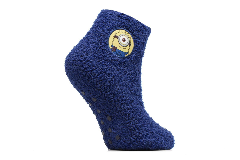 Chaussettes et collants Disney Chaussons-Chaussettes Anti-dérapant Minions Bleu vue détail/paire