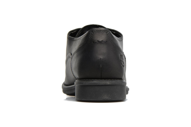 Chaussures à lacets Timberland Carter Notch Oxford Noir vue droite