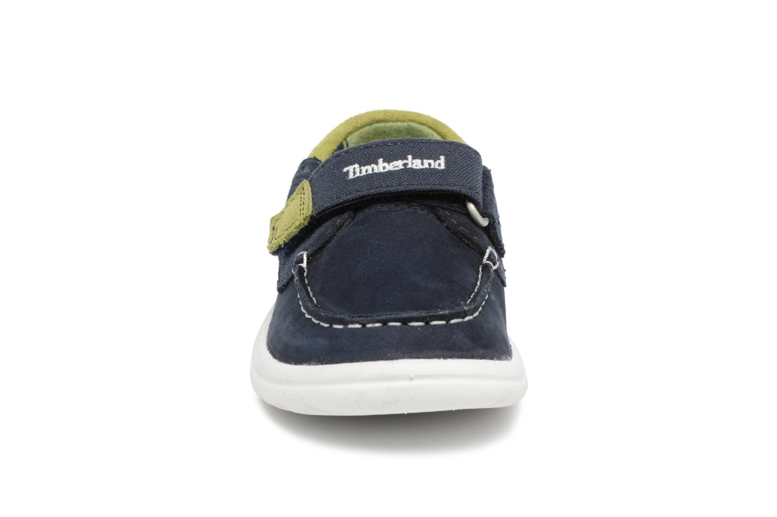 Toddletracks Boat Sh Navy Naturebuck