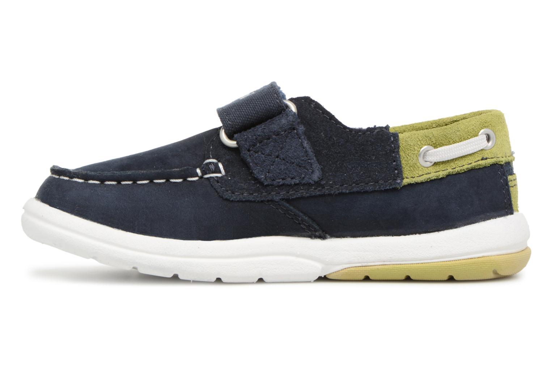 Sneaker Timberland Toddletracks Boat Sh blau ansicht von vorne