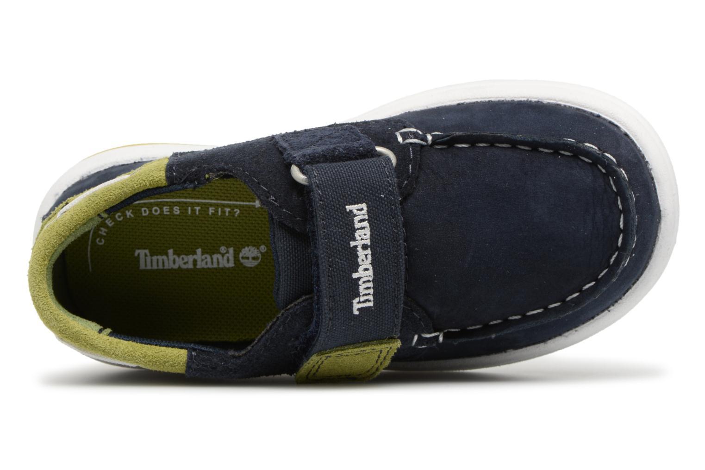Sneaker Timberland Toddletracks Boat Sh blau ansicht von links